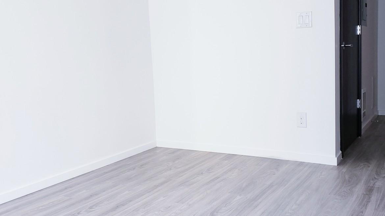 White wall view